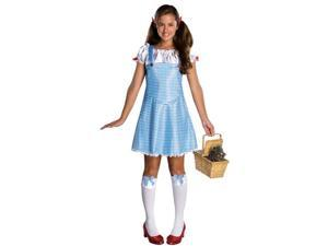 Tween Wizard of Oz Dorothy Costume Rubies 886150