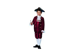Child Benjamin Franklin Costume Franco American Novelties 48046