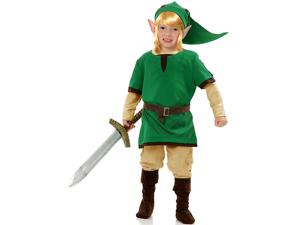 Boy's Legends Of Zelda Elf Warrior Costume
