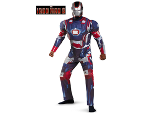 Adult Deluxe Iron Man Patriot  Costume