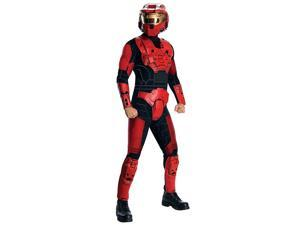 Men's Halo DLX Red Spartan Adult Costume
