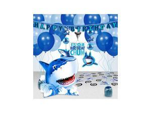 Shark Party Decoration Kit - Party Supplies