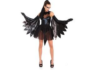 Adult Black Raven Swan Sexy Costume