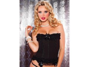 Women's Black License to Thrill Bustier