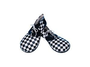 Black and White Square Circus Shoes