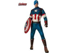 Adult Avengers 2 Captain America Deluxe Costume