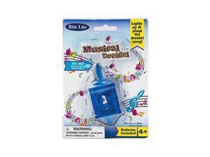"""3"""" Musical Light Up Dreidel - Party Supplies"""