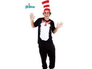 Cat in the Hat Short Sleeve Set Costume for Men