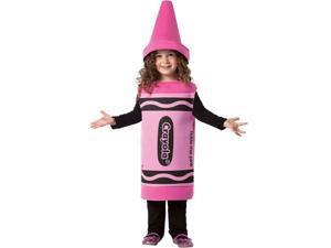 Kid's Crayola Tickle Me Pink Crayon Costume