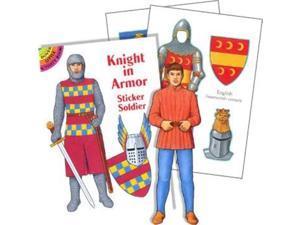 Knight Sticker Book (each) - Party Supplies