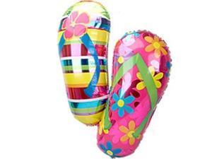 Flip Flop Mylar Balloon (each) - Party Supplies