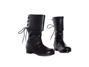 Children's Black Buccaneer Boots