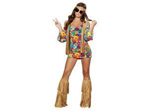 Hippie Hottie Sexy Adult Costume
