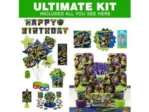 TMNT Birthday Party Ultimate Tableware Kit - Party Supplies