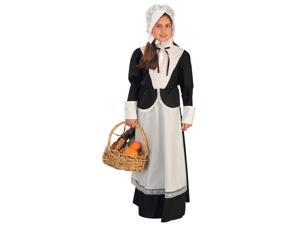 Girl Colonial Pilgrim Costume