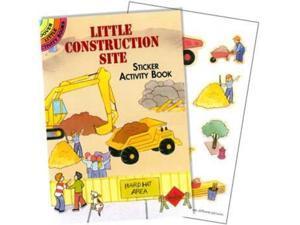 Construction Site Sticker Book (each) - Party Supplies