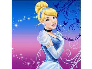Cinderella Beverage Napkins (16-pack) - Party Supplies