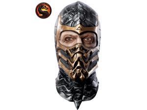Mortal Kombat Scorpion Latex Mask for Adults