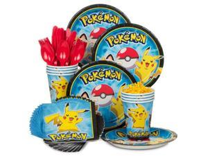 Pokemon Standard Kit (Serves 8) - Party Supplies