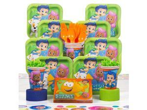 Bubble Guppies Deluxe Kit (Serves 8) - Party Supplies