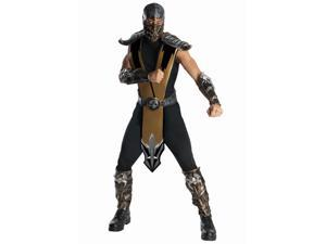 Deluxe Scorpion Mortal Kombat Costume for Men
