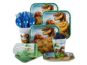 The Good Dinosaur Birthday Party Standard Tableware Kit Serves 8 - Party Supplies