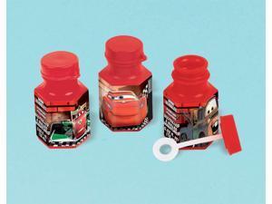 Disney Cars .6oz Bubble Favors (12 Pack) - Party Supplies