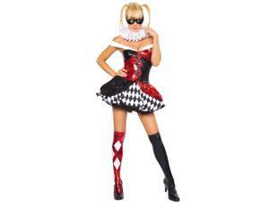 Sexy Women's Clown Costume