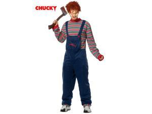Men's Licensed Chucky Mask and Costume
