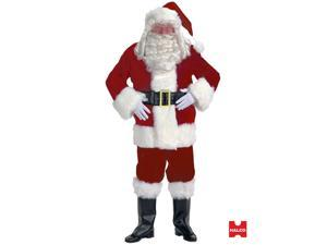 Deluxe XL Velvet Santa Suit