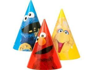 Sesame Street Party Hats (8-pack) - Party Supplies