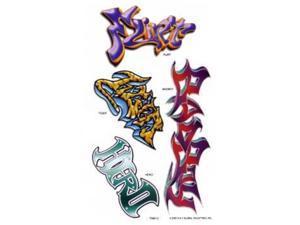 Graffiti Tattoos (each) - Party Supplies