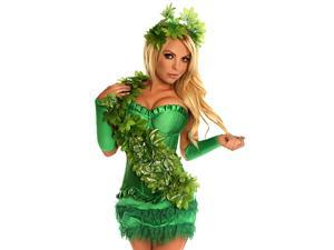 Sexy Green Poison Ivy Costume