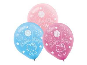 Hello Kitty Latex Balloons (6 Pack) - Party Supplies