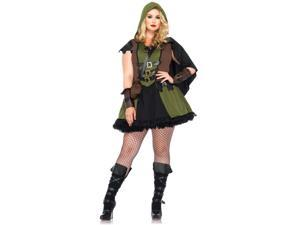Plus  Darling Robin Hood Costume