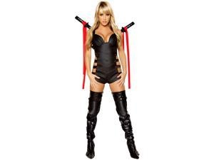 Women's Sexy Assassin Deluxe Costume