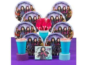 Descendants Birthday Party Deluxe Tableware Kit Serves 8 - Party Supplies