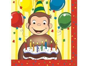 Curious George Napkins (16-pack) - Party Supplies