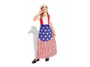 Girl's Betsy Ross Costume