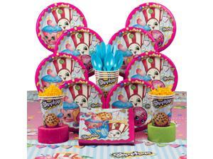 Shopkins Birthday Party Deluxe Tableware Kit Serves 8 - Party Supplies