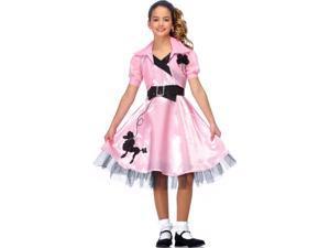 Sock Hop Diva Girl's Costume