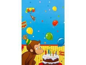 Curious George Table Cover (each) - Party Supplies