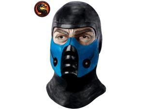 Mortal Kombat Sub Zero Latex Mask for Adults