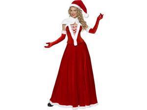 Romantic Miss Santa Costume