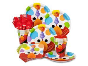 Elmo Birthday Standard Kit  Serves 8 Guests - Party Supplies