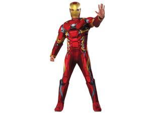 Adult Captain America Civil War Deluxe Muscle Chest Iron Man Costume
