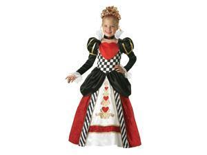Queen of Hearts Elite Girl's Costume