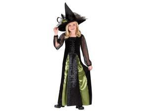 Goth Maiden Girl's Witch Costume