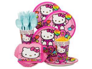 Hello Kitty Rainbow Standard Kit (Serves 8) - Party Supplies
