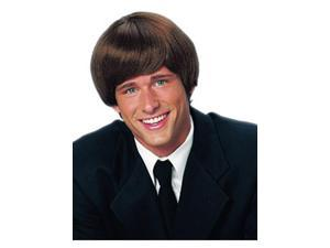 Adult 60s Mod Brown Wig